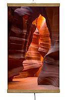 Обогреватель-картина инфракрасный настенный ТРИО 400W 100 х 57 см, каньон, фото 1