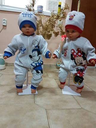 2ка - комбез и шапочка Микки и Минни, фото 2