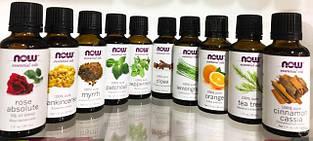 100% Эфирные масла NOW Foods