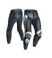 Мотоштаны кожаные RST TracTech Evo-R CE (White Black)