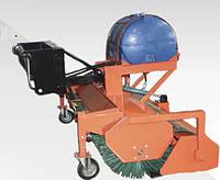 Щетка дорожная (коммунальная) к телескопическим погрузчикам с системой полива