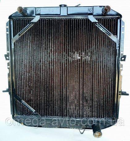 Радиатор охлаждения КРАЗ-250 (4-х рядный) (пр-во Украина) 250-1301010