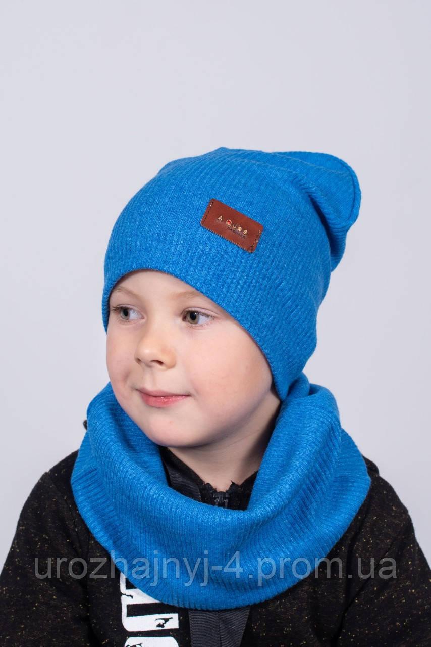 Набор шапка и хомут подкладка х/б р52-54