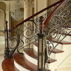 Кованые лестницы, перила