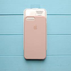Накладка оригинальная Apple Silicone Case для iPhone 7 Plus, 8 Plus Pink sand