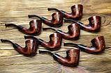 Подарок с гравировкой - трубка для курения KAF203 Dublin под фильтр 9 мм, фото 6