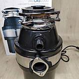 Кухонный измельчитель пищевых отходов Kraissmann 740 LAS 1000 с Кнопкой, фото 3
