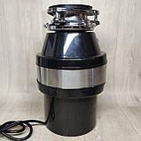 Кухонный измельчитель пищевых отходов Kraissmann 740 LAS 1000 с Кнопкой, фото 2