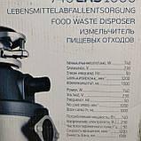 Кухонный измельчитель пищевых отходов Kraissmann 740 LAS 1000 с Кнопкой, фото 10