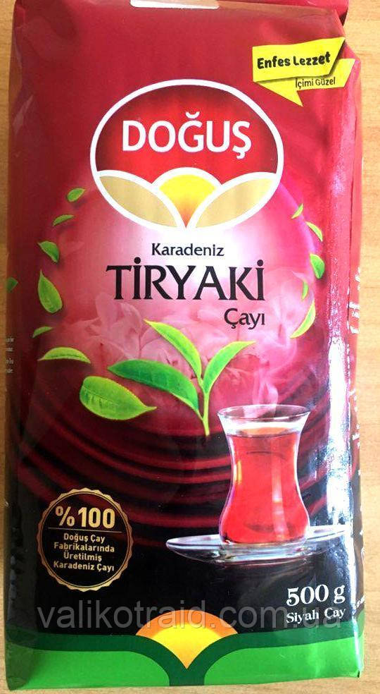 Чай турецька DOGUS чорний дрібнолистовий Tiryaki Cayi 500г