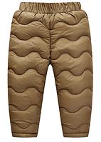 Дитячі теплі штани 110, 130, фото 1