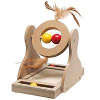 Karlie Flamingo Tumbler (Карле Фламинго) Тумблер игрушка для котов