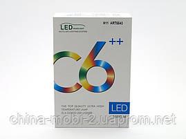 LED C6++ H11 5500LM, светодиодные автомобильные лампы основного света, фото 3