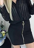 """Женская мини-юбка с молнией """"Dana"""" В И"""