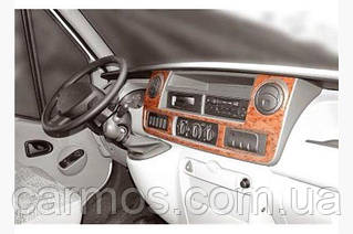 Декор панели (накладки на панель) рено Мастер/ Renault Master 2004-2010