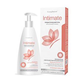 Гель для интимной гигиены с пребиотиками, увлажнение сверхчувствительной кожи Intimate Compliment 250 мл.