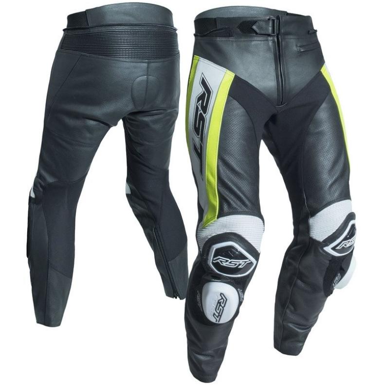 Мотоштаны кожаные RST TracTech Evo-R CE (Fluo Yellow)