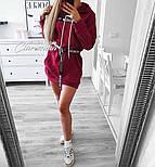 Жіноча стильна толстовка-плаття (в кольорах), фото 6