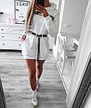 Жіноча стильна толстовка-плаття (в кольорах), фото 7
