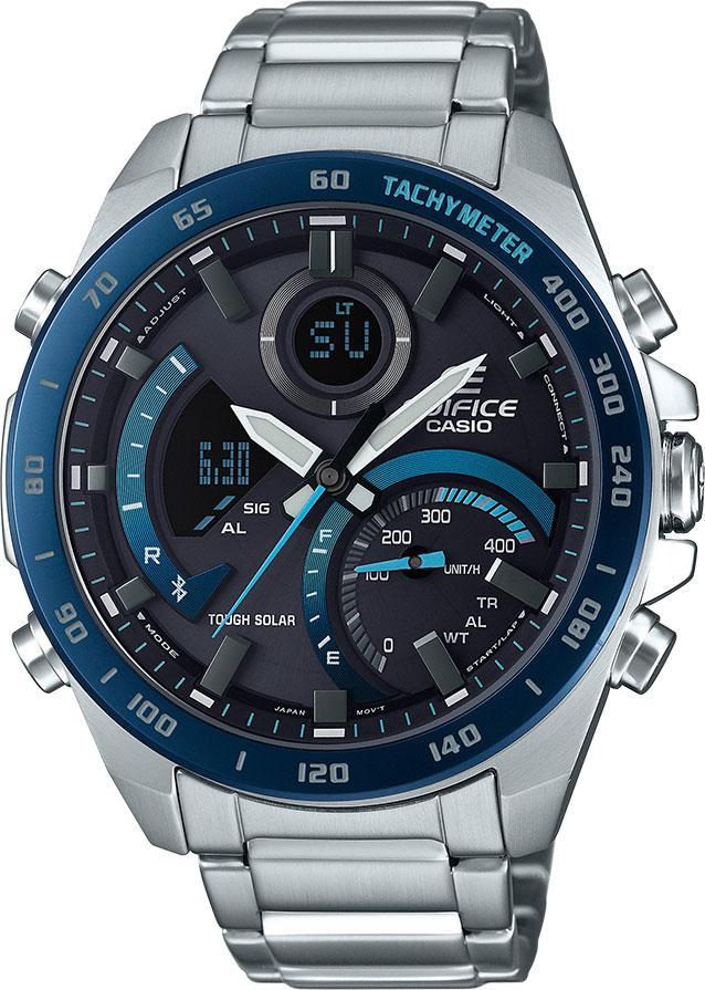 Мужские часы Casio ECB-900DB-1BER
