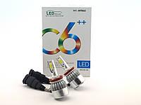 LED C6++ H11 5500LM, светодиодные автомобильные лампы основного света
