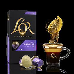 Nespresso капсулы L'OR Lungo Profondo 8 (10 шт.) Франция Неспрессо Льор