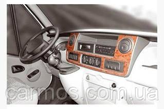 Декор панели (накладки на панель) Opel Movano (опель мовано) 2004-2010