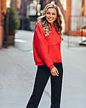 Женское стильное худи с карманами (в расцветках), фото 2
