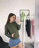 Женское стильное худи с карманами (в расцветках), фото 4