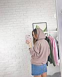 Женское стильное худи с карманами (в расцветках), фото 3