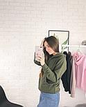 Женское стильное худи с карманами (в расцветках), фото 5