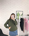 Женское стильное худи с карманами (в расцветках), фото 8