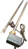 Электро-тэн для радиаторов с  терморегулятором мощность 1000 W (сухой тэн)