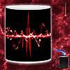 Чашка хамелеон Неоновый пульс 330мл