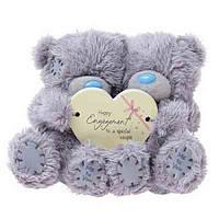 Двое мишек Teddy 10 см Happy Engagemen ( Счастливой помолвки ) Размер мишек: 10 см