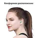 Наушники беспроводные блютуз гарнитура Bluetooth наушники 5.0 Wi-pods TW60. Зеленые, фото 8