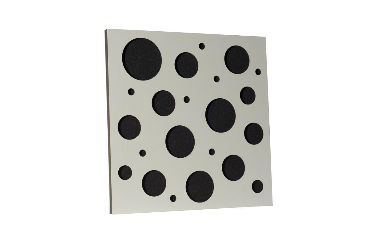 Акустическая панель Ecosound EcoBubble White 50х50см 33мм цвет белый