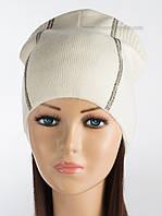 Белая женская шапочка Саваж