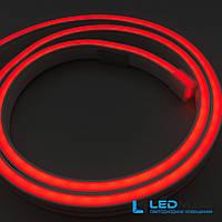 Светодиодный неон Rishang 2835/120 24В IP66 Красный