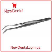 Пинцет стоматологический изогнутый / Пінцет стоматологічний вигнутий