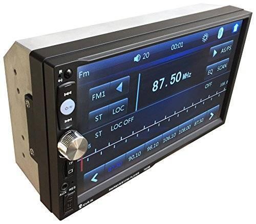 Автомагнитола 2DIN 7-дюймов сенсорный экран 7012 short
