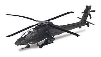 Военные Вертолеты DeAgostini №2 McDONELL DOUGLAS AH-64A APACHE (США) масштабная модель 1:72