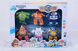Детский игровой набор Робокар Поли 381D