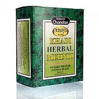 Краска для волос, цвет черный, 100 г, Кхади; Khadi Herbal Mehendi Natural Black