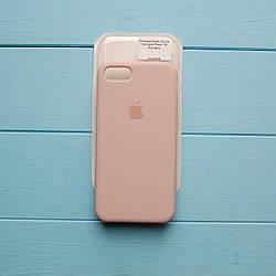 Накладка оригинальная Apple Silicone Case для iPhone 7, 8 Pink Sand