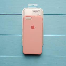 Накладка оригинальная Apple Silicone Case для iPhone 7, 8 Rose pink