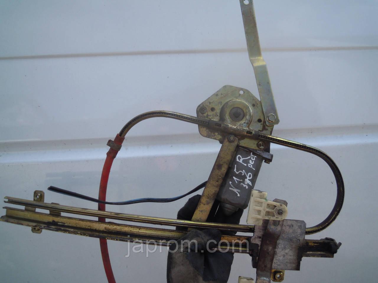 Стеклоподъемник передний правый электрический Nissan Almera N15 1999-2000г.в. 3дв хетчбек