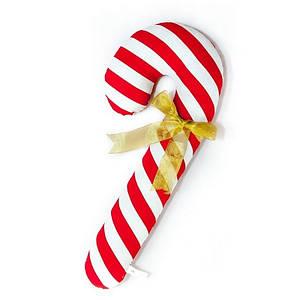 Новогодняя подушка игрушка Конфета 54 см мягкая игрушка