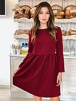 Платье красивое модное с пышной юбкой миниразные цвета Sml2638