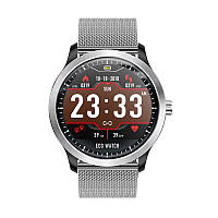Умные часы Blaze Watch N58 с тонометром и ЭКГ (Серебристый), фото 1